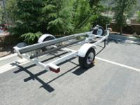 Zieman boat trailer to transport a Dinghy, lightweight