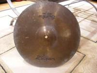 I HAVE THIS ZILDJIAN 18 INCH CRASH-RIDE FOR ONLY $25.00