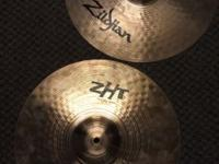 "For Sale a pair of Ziljian ZHT 14"" Rock Hi Hats. They"