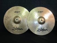 "We have a pair of 14"" Zildjian HiHat cymbals for sale."