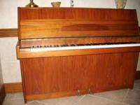 Beautiful Zimmermann Upright Piano and matching piano