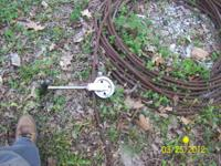 Zip Line with 9/16''cable 150' long $60.00 call Wayne