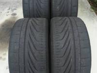 For sale is a full set (4 tires) of Goodyear Eagle F1