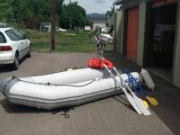 RU310 HP Zodiac inflatable boat ocean worthy, with