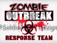 Zobie outbreak response team (high def screen print)!
