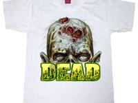 Zombie repellent (high def screen print)! Dezign is