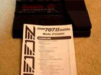 I'm selling both my guitar gadgets zoom 707 II (comes