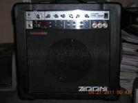 Selling a Zoom-Fire 18M guitar amp in great condition