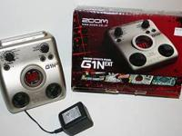 This is the ZOOM G1N ext Multi FX processor. Brand New;
