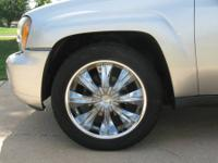 "ZORA 20"" CHROME WHEELS. THEY HAVE TIRES ON THEM BUT"