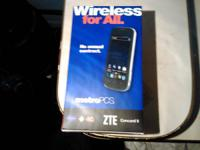 New in box metro PCs zte concord 2 4g smartphone $45.00