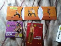 Brand New Zumba Fitness work out DVD and shakers. I