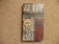 ZZ Top Chrome Smoke and BBQ box set, 4 discs, total 80