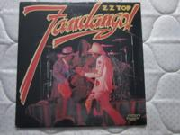ZZ TOP Fandango Original Sealed Vinyl .This is the